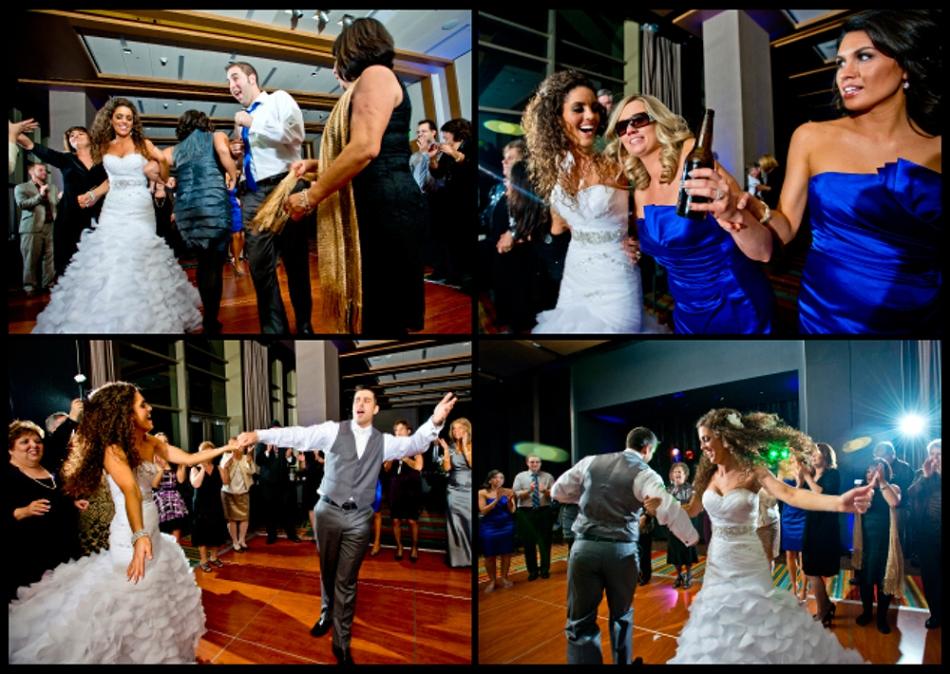 OWSP Pittsburgh Rivers Casino Wedding Fun Dancing Reception