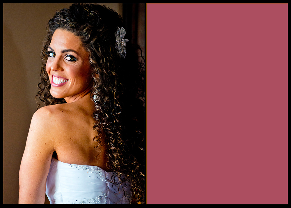 OWSP Pittsburgh Wedding Bride Bright Smile