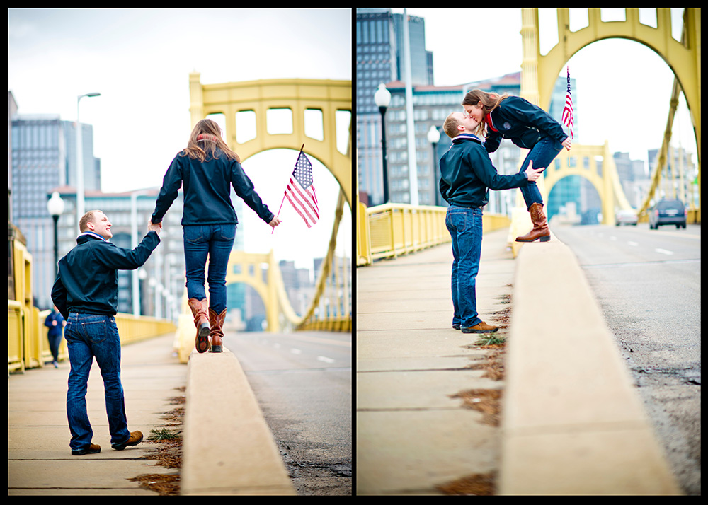 OWSP Americana Theme Engagement Shoot Moving to Chicago