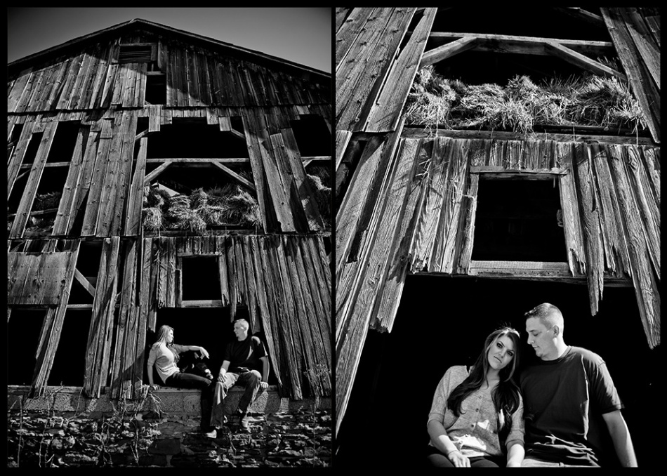 OWSP Old Barn Engagement Photos Moving to Chicago