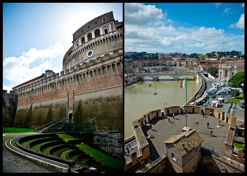 Rome Italy Castel Sant'Angelo