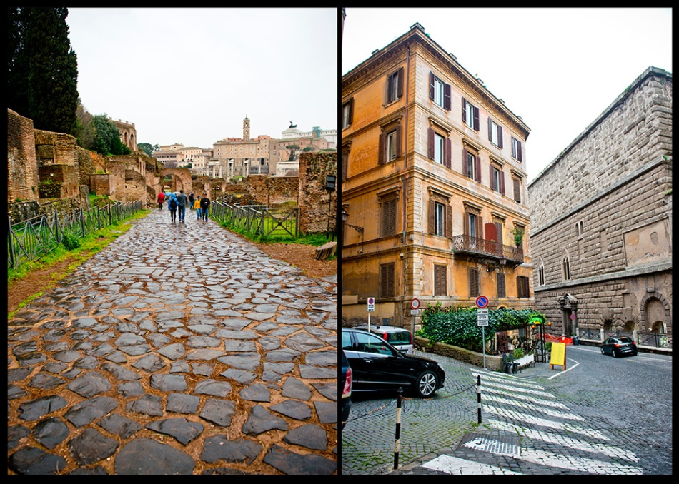 Streets of Rome Italy