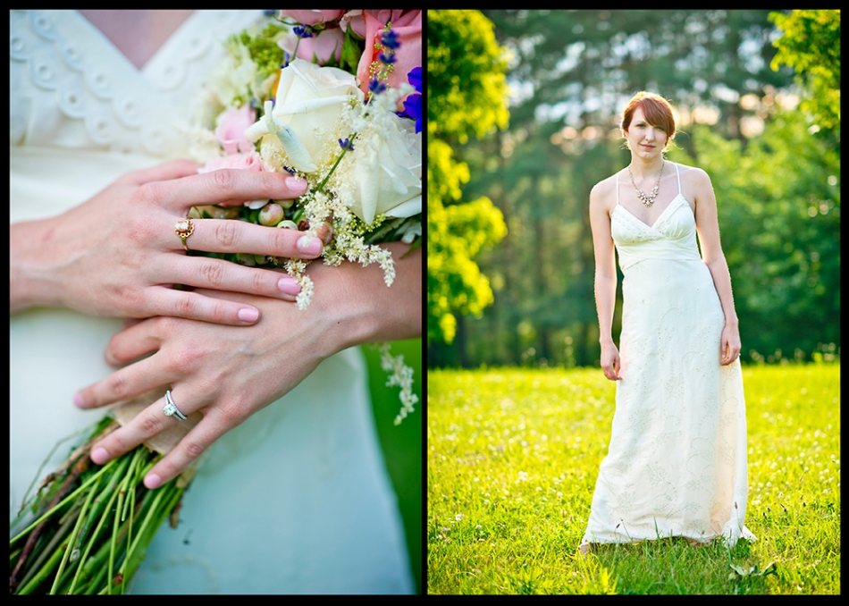 Rural-Bride-Portrait-Flowers